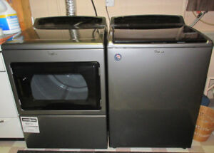Whirlpool Chrome Shadow Top Load - Washer & Dryer