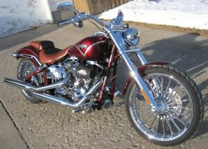 "2013 Harley FXSBSE CVO Screamin Eagle Breakout 110"" ONLY 5372 KM"