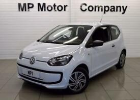 2013 13 VOLKSWAGEN UP 1.0 TAKE UP 3D 59 BHP ECONOMICAL HATCH, WHITE,22-000 MILES