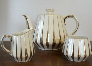 Sadler Three piece Tea Service