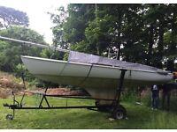 FREE Squib Sailing Boat
