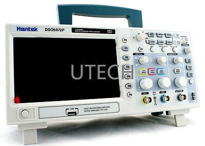 Hantek Dso5072p Digital Oscilloscope 70mhz 1gsas 2ch 40k 7 Tft Signal Waveform