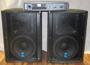 Yorkville Amp and Speakers