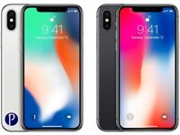 iPhone X 64GB on EE/BT/Virgin NEW 1 Silver & 1 Space Grey Sealed Box. Full 12 Month Apple Warranty