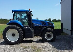 2013 New Holland T8.300 MFD Tractor London Ontario image 2