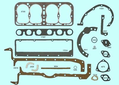 Ford Model B Full Engine Gasket Set/Kit BEST GraphTite Head+Manifold