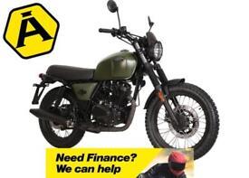 BRIXTON BX 125 X - RETRO SCRAMBLER MOTORCYCLE - LEANER LEGAL - EURO 4