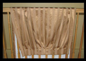 2 PAIR OF LINED DRAPES