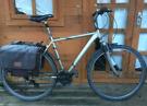 "Diamond cross sport hybrid bike. 21"" frame large. 700cc wheels. Works"