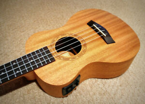 Concert Acoustic Electric Ukulele - $99