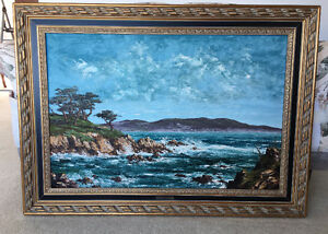 ORIGINAL OIL PAINTING ON CANVAS IN BEAUTIFUL FRAME