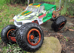 RC Electric Rock Crawler Truck 1/8 Scale 4 Wheel steering, 4WD, Peterborough Peterborough Area image 1