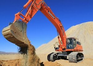 DOOSAN EXCAVATORS AND WHEEL LOADERS-0% FINANCING FOR 36 MONTHS