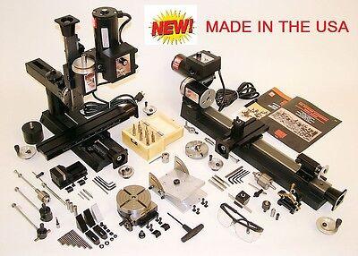 Sherline 6200-cnc Ultimate Machine Shop Lathe Mill Cnc 6210-cnc For Metric