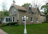 Century stone home on 1/3 acre, for sale by owner