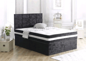 MUST HAVE DIVAN bed set with luxury mattress & FREE MATCHING HEADBOARD