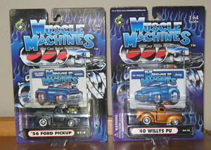 Muscle Machine Diecast Models , New