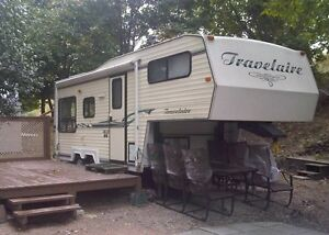 One Owner-BC Trailer-Travelaire 5th wheel