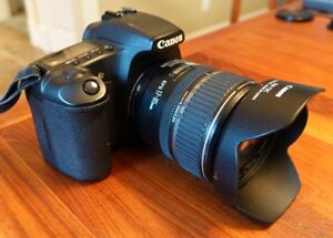 CANON 30D complete DSLR kit with lenses and extras