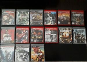 PS3 GAMES $8 EACH