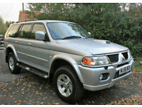 2006 MITSUBISHI SHOGUN SPORT 2.5TDI TROJAN DIESEL 5DR MANUAL ESTATE LOW MILEAGE