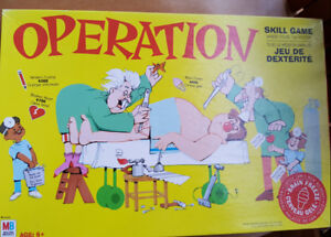 MB Operation Board Game age 6+ FREE