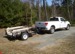 Self Loading Utility Trailer for Hire