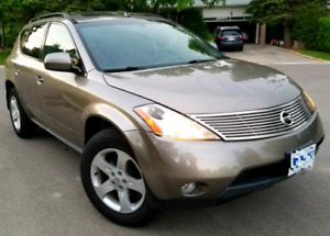 2004 NISSAN MURANO 4X4 AWD E-TESTED !) REMOTE START!*