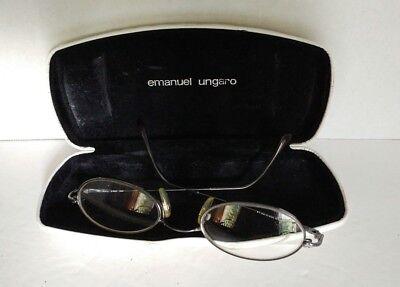 Emanuel ungaro prescription eyeglasses frame in case vintage designer glasses