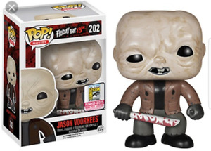 Funko Pop Jason Voorhees Sdcc Exclusive 1008 piece holy grail!!!