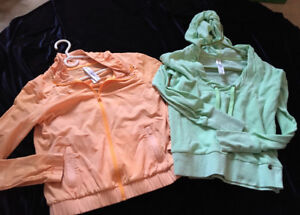 LIKE NEW LORNA JANE JACKET ONE PRICE /TWO PIECES