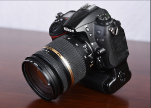 Nikon D7000- Tamron Di II SP 17-70mm f/2.8 only 27 576 click