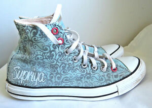 CONVERSE ALL STAR HIGH TOP Turquoise UNISEX Sneakers