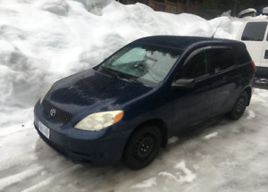 2003 Toyota Matrix (5 Speed Manual) 244KM