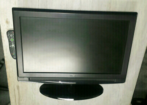 "RCA 26"" FLAT SCREEN LCD TV WITH UNIVERSAL REMOTE CONTROL - $85."