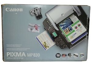 Canon Pixima MP-830 Printer in original Box with manual