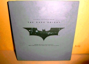Batman The Dark Knight Deluxe Ultra Rare Soundtrack