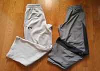 2 Under Armour Pants - Mens small, both for $60
