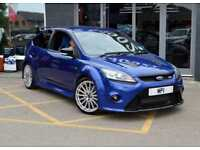 2009 59 FORD FOCUS 2.5 RS 3D 300 BHP SPORTS HB, 36-000M MOSH, SH-7 STAMPS, BLUE