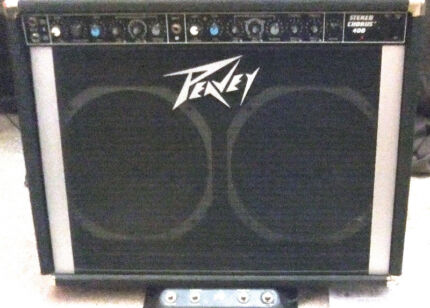 PEAVEY STEREO CHORUS 400 GUITAR AMPLIFIER 1 OR 2 CHANNEL