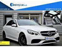 2014 14 Mercedes-Benz E63 AMG 5.5 V8 BiTurbo 557BHP Saloon PAN ROOF | KEYLESS