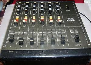 Used Vintage Teac M-2A 4-CH Mixer