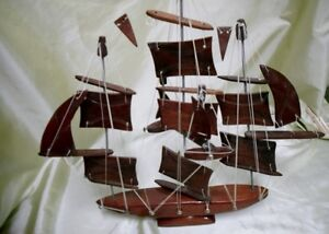 Solid WOODEN SHIP