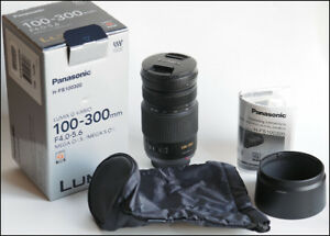 Panasonic Lumix G Vario Telephoto Zoom 100-300mm MEGA O.I.S.