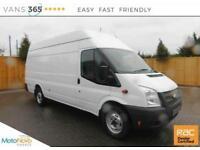 Ford Transit NO VAT ONLY 67K MILES EXTRA LWB JUMBO 125 BHP 350 H/R