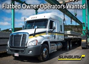 Flatbed Owner Operators Wanted!!