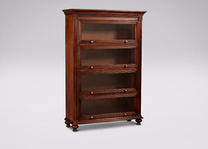 Ethan Allen Pie Safe, Barrister Bookcase and Entertainment Unit