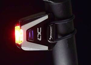 HALF PRICE MOON ultra bright LX-70 70LM USB REAR BICYCLE LIGHT East Perth Perth City Area Preview
