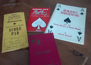 Bridge Card Game Related Items - All for $15