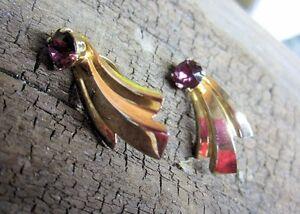 Amethyst Clip On Earrings